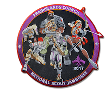 2017 Prairielands Council Jamboree Patch 1