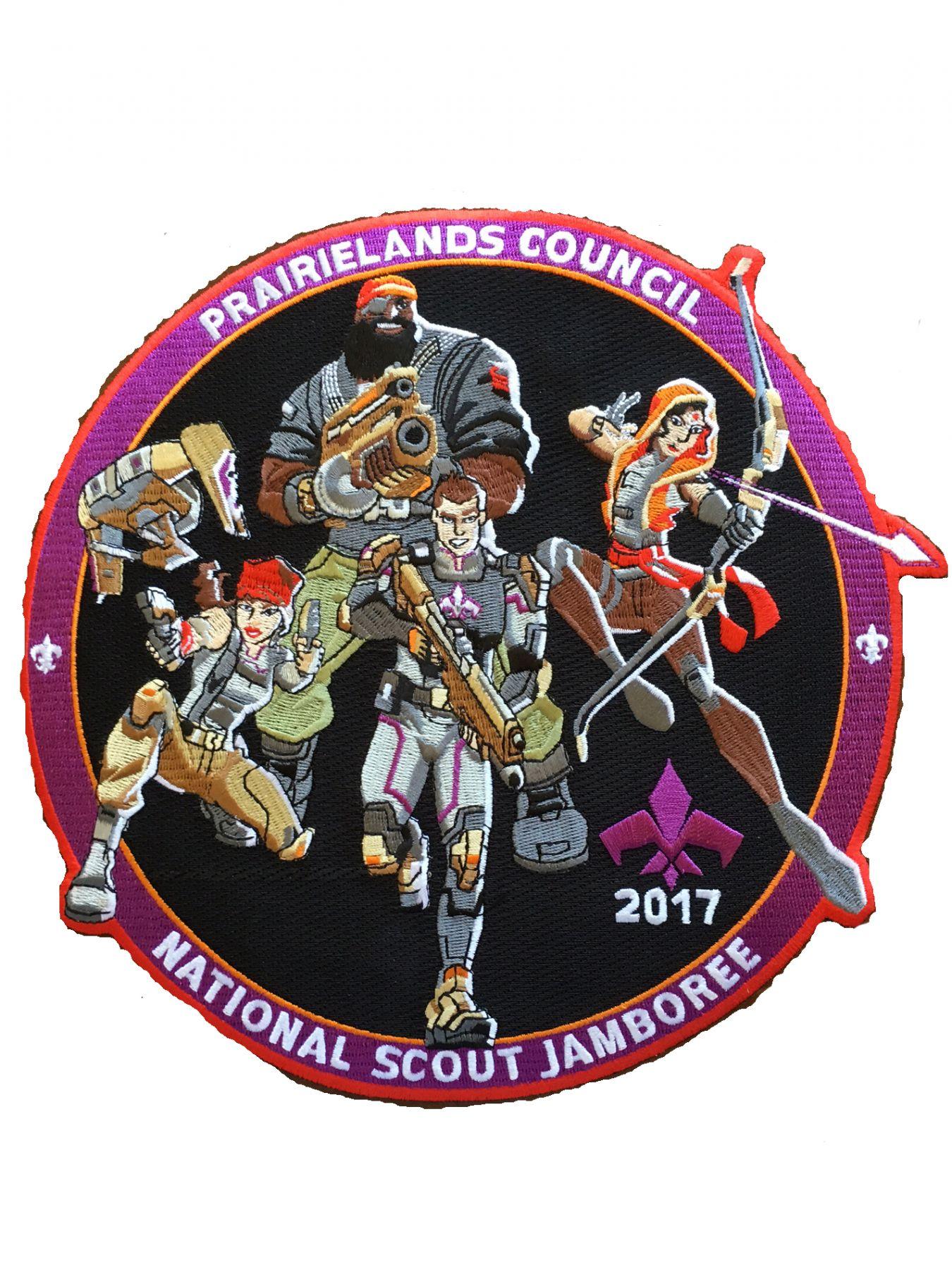 jamboree jacket patch